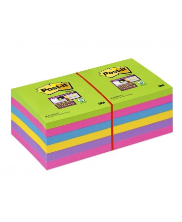 Post-It Super Sticky Notes 654-12ssuc