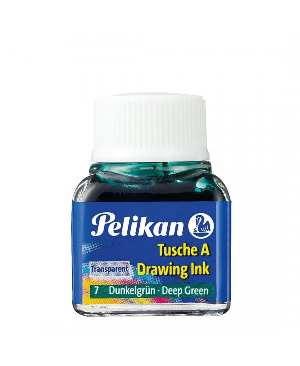 Pelikan China Scuola  523 Ml.10 07-Verde Scuro