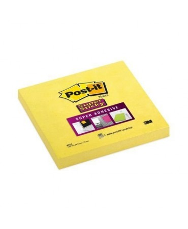 Post-It Super Sticky 76x76 Giallo 654-s
