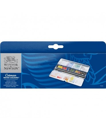 Winsor & Newton Cotman Watercolour Blue Box