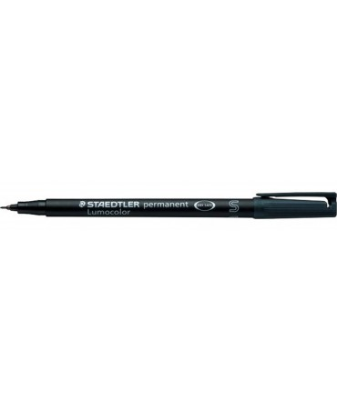 Staedtler Pennarello Permanente Lumocolor Superfino 9-Nero