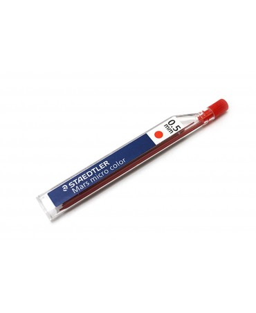 Staedtler Ro-0.5 Mm Red Mars Micro Color Mine