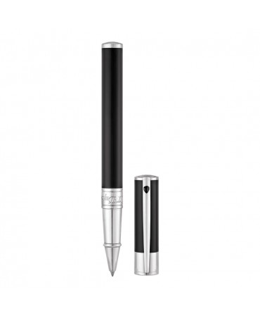 S.t. Dupont Roller Dupont D-Initial Nero E Cromo