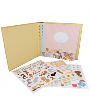 Artemio Kit Album Family Friends 60 Pg Gatto