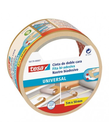 Tesa Double Sided Tape 5mtx50mm (56170) Ease Tense Cut