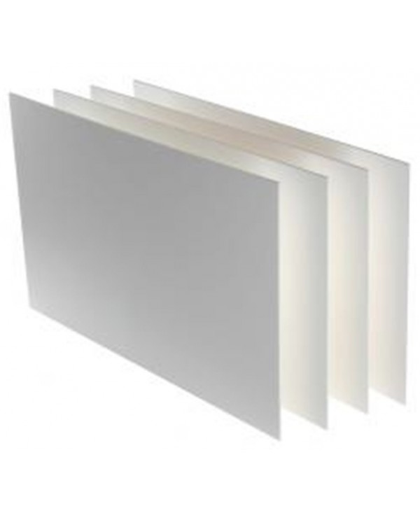 Canson 40 Pcs Pack Carton Plume 50x70 3 Mm. Bianco