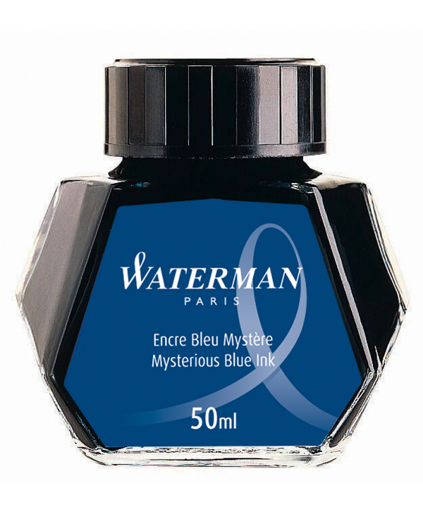 Waterman Flacone Inchiostro  Mysterious Blue