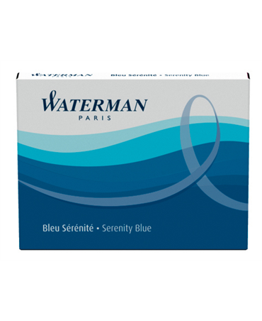 Waterman Cf. 8 Cartucce Standar  Serenity Blue