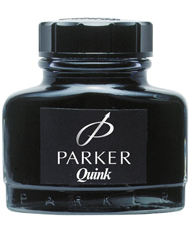 Parker  Quink Ink Bottle Black-Blue