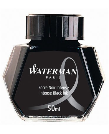 Waterman Flacone Inchiostro  Intense Black