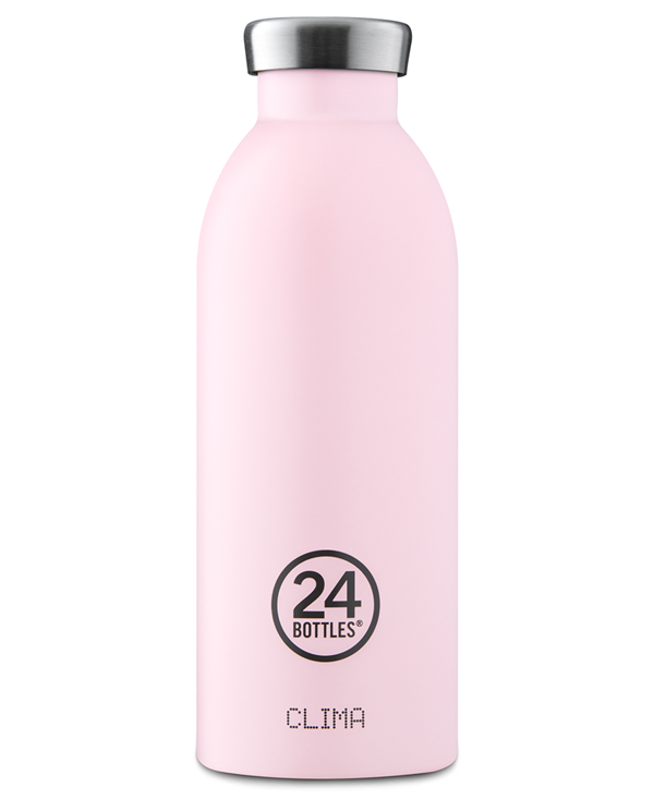 24bottles Thermos Clima 500ml Acciaio Inox 20.5cm Candy Pink