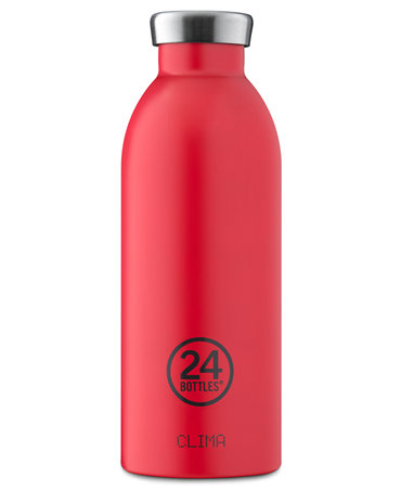 24bottles Thermos Clima 500ml Acciaio Inox 20.5cm Hot Red