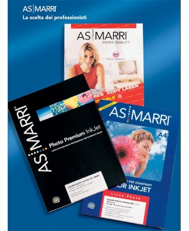 As/marri - Carta Fot. A4 10fg 260gr Colorphotosatin Premium
