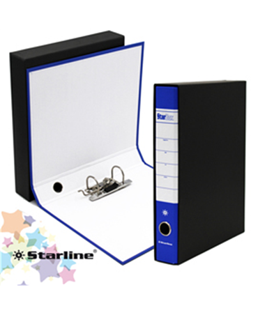 Starline 18 Pcs Pack Registratore Starbox D.5 Protocollo Blu