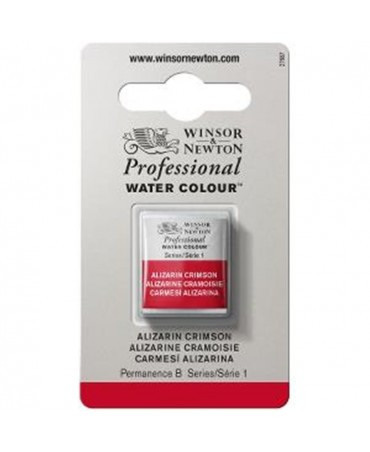 Winsor & Newton - Acquarello Extra-Fine Artists Awc 1-2 Godet Serie 1 - Colore 004 Alizarin Crimson