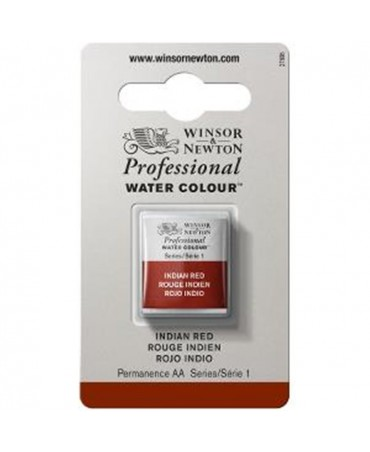 Winsor & Newton - Acquarello Extra-Fine Artists Awc 1-2 Godet Serie 1 - Colore 317 Indian Red