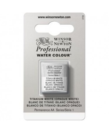 Winsor & Newton - Acquarello Extra-Fine Artists Awc 1-2 Godet Serie 1 - Colore 644 Titanium White