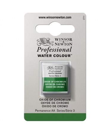 Winsor & Newton - Acquarello Extra-Fine Artists Awc 1-2 Godet Serie 3 - Colore 459 Oxide Of Chromium