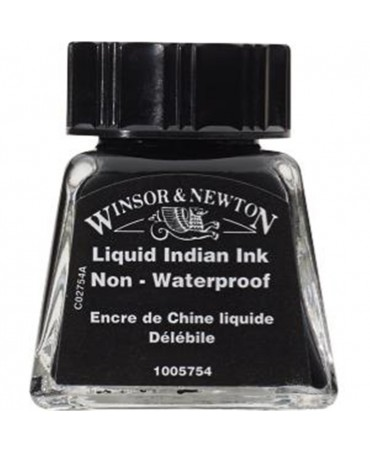 Winsor & Newton - Inchiostro Di China 14 Ml. - 754 Inchiostro Indiano Liquido