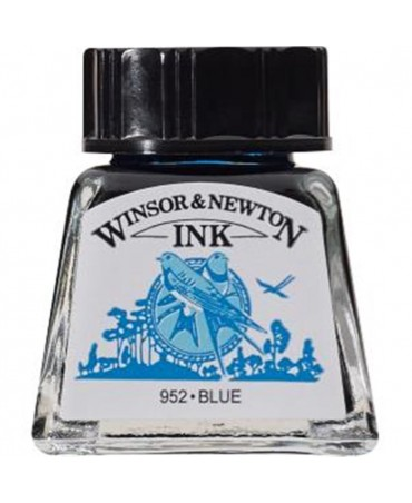 Winsor & Newton - Inchiostro Di China 14 Ml. - 32 Blu