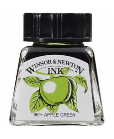 Winsor & Newton - Inchiostro Di China 14 Ml. - 011 Verde Mela
