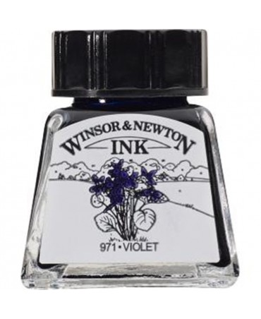 Winsor & Newton - Inchiostro Di China 14 Ml. - 688 Viola