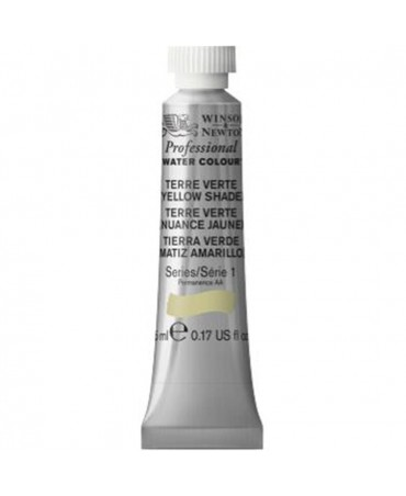Winsor & Newton - Acquarello Extra-Fine Artists Awc Tubo 5ml Serie 1 - Colore 638 Terre Verte Yellow Shade