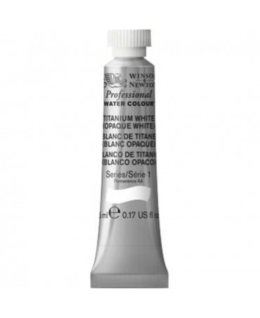 Winsor & Newton - Acquarello Extra-Fine Artists Awc Tubo 5ml Serie 1 - Colore 644 Titanium White