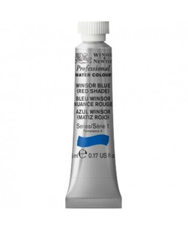 Winsor & Newton - Acquarello Extra-Fine Artists Awc Tubo 5ml Serie 1 - Colore 709 Winsor Blue Red Shade