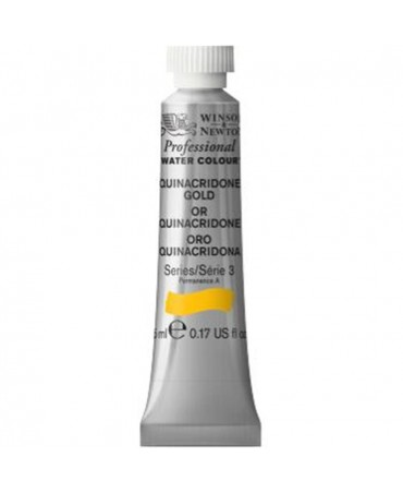 Winsor & Newton - Acquarello Extra-Fine Artists Awc Tubo 5ml Serie 3 - Colore 547 Quinacridone Gold