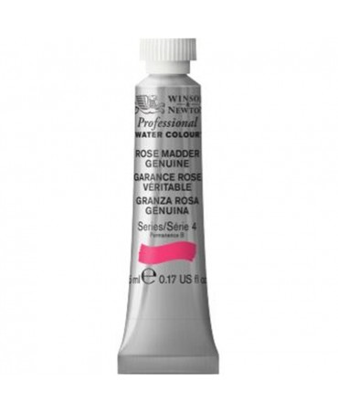 Winsor & Newton - Acquarello Extra-Fine Artists Awc Tubo 5ml Serie 4 - Colore 587 Rose Maddr Genuine