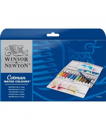 "Winsor & Newton - ""painting Plus"" 12 8 Ml Tubes"