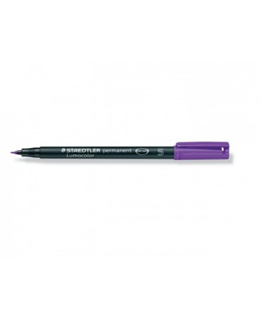 Staedtler Pennarello Permanente Lumocolor Superfino 6-Violetto