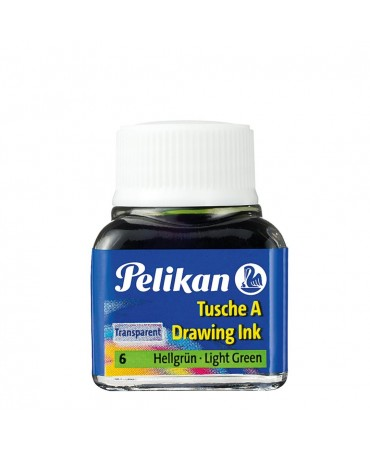 Pelikan - Inchiostro Di China 523 Verde Chiaro 6 10ml