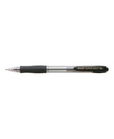 Pilot - Penna Sfera Scatto Super Grip Nero m