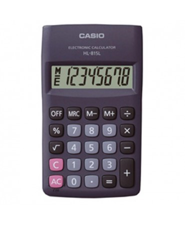 Casio Calculator 8 Digits Pocket Hl-815l Bl-Ref. Hl815