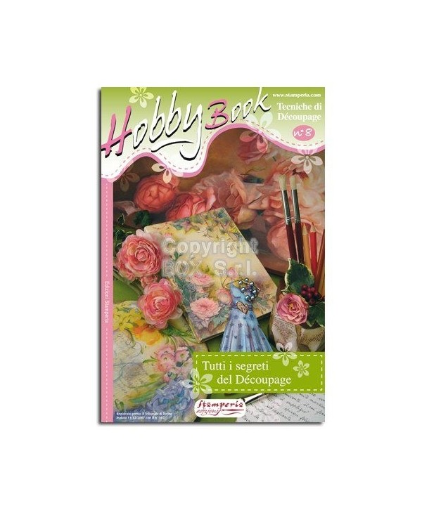 Stamperia Manuale Hobby Book 08-Spec.decoupage