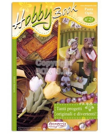 Stamperia Manuale Hobby Book 21-Spec.pasta Opla'