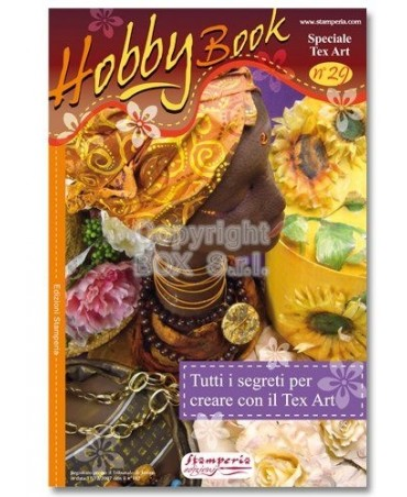 Stamperia Manuale Hobby Book 29-Speciale Texart