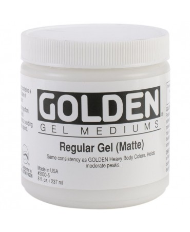 Golden Regular Gel (matte)