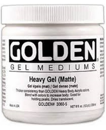Golden Heavy Gel (matte )