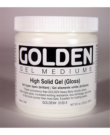 Golden High Solid Gel (gloss)