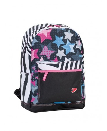 The Double Project Cover Backpack Seven Cover Jet Black